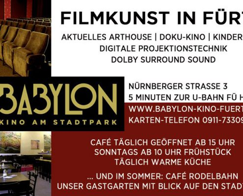 Babylon - Kino am Stadtpark Fürth