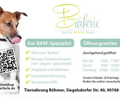 Tiernahrung Böhmer / Barferie