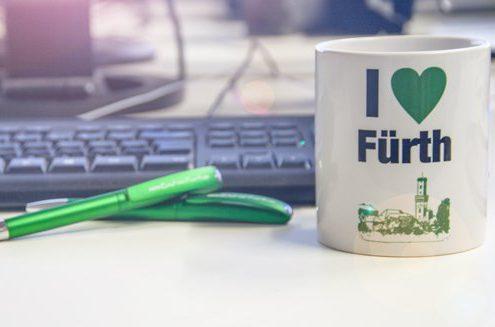 I love Fürth - Tasse