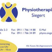 Physiotherapie Siegert