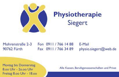 Physiotherapie Siegert