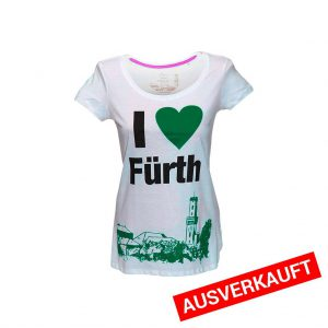I love Fürth - T-Shirt-Damen