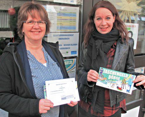 Spende Ttaschengeldbörse Oberasbach