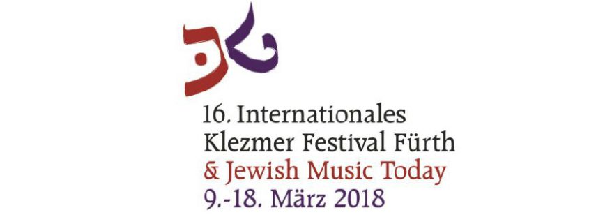 16. Internationales Klezmer Festival Fürth