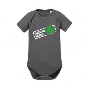 Baby Body Organic, dark grey - Made in Färdd